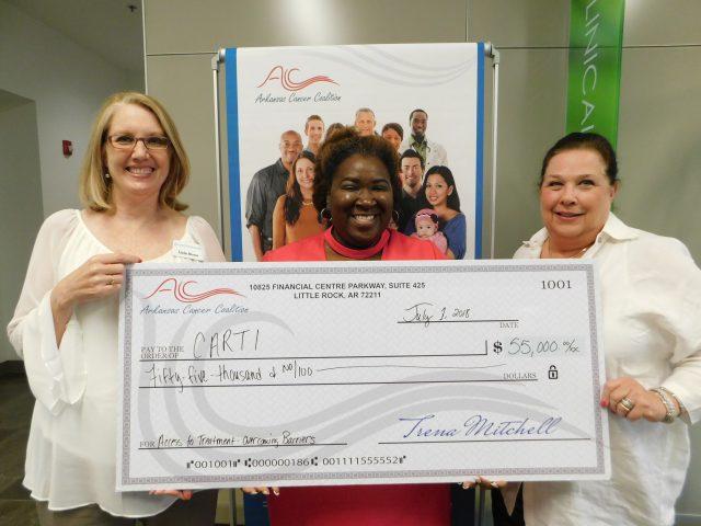 CARTI Receives $55,000 Arkansas Cancer Coalition Grant