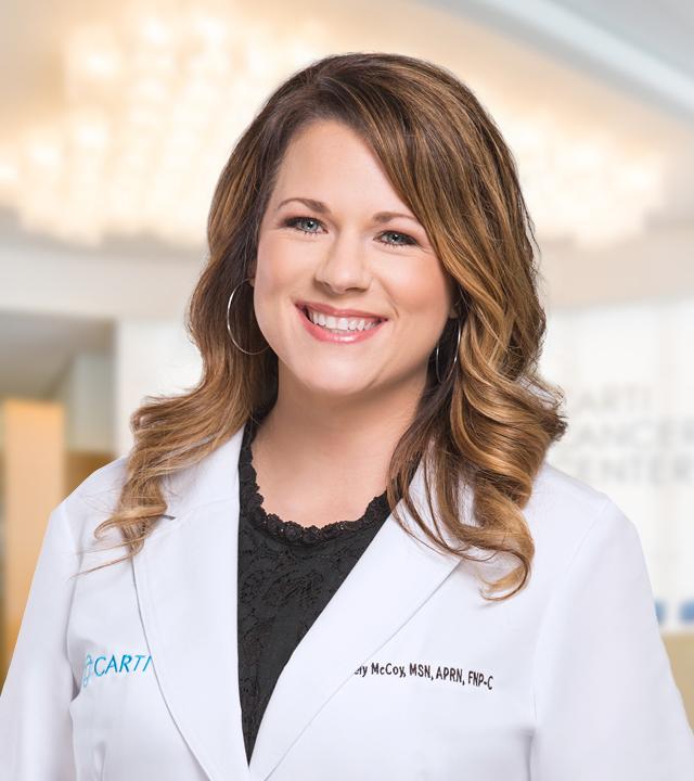 headshot of Ashley McCoy, MSN, APRN, FNP-C