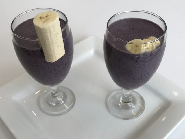 IN THE KITCHEN WITH COBY | CANCER FIGHTING BLUEBERRY SMOOTHIE