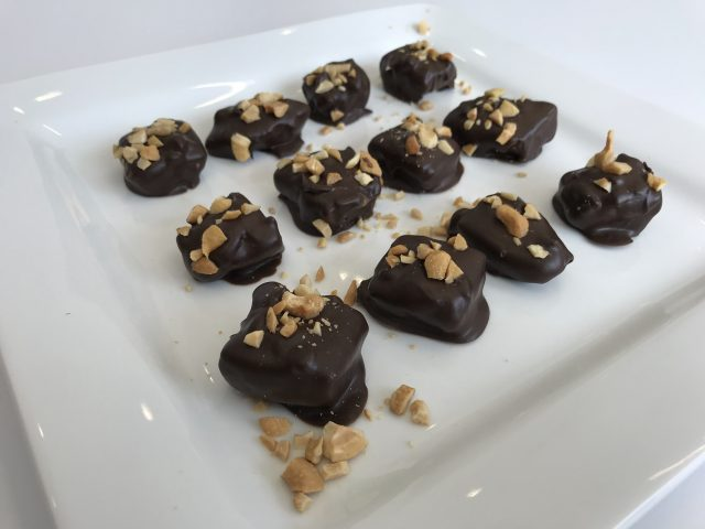 IN THE KITCHEN WITH COBY | Dark Chocolate, Cashew and Banana Snackers