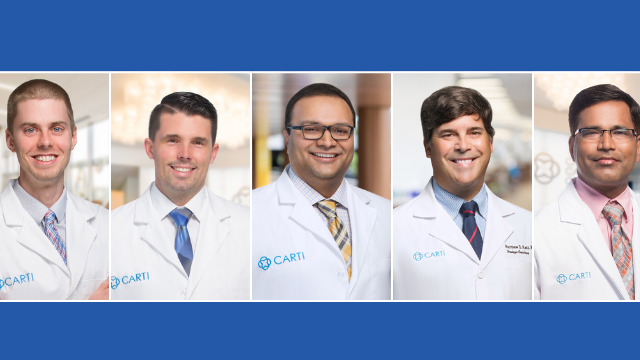 CARTI Adds Five New Physicians to Medical Team