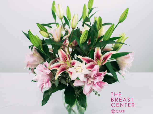 Tipton & Hurst Delivers Pink Flowers to Patients of The Breast Center at CARTI